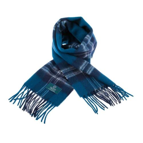 Scottish 100 /% Lambswool Tartan Clan Scarf Earl Of St Andrews Brand New