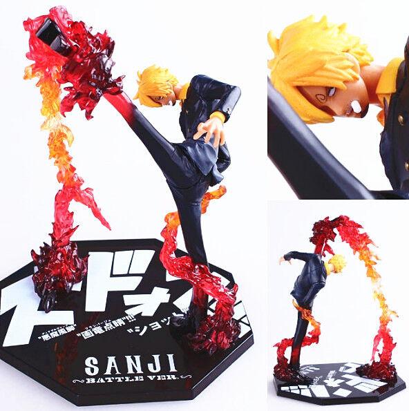One Piece Sanji Battle.Ver Toy Figure Figurine Doll New in Box