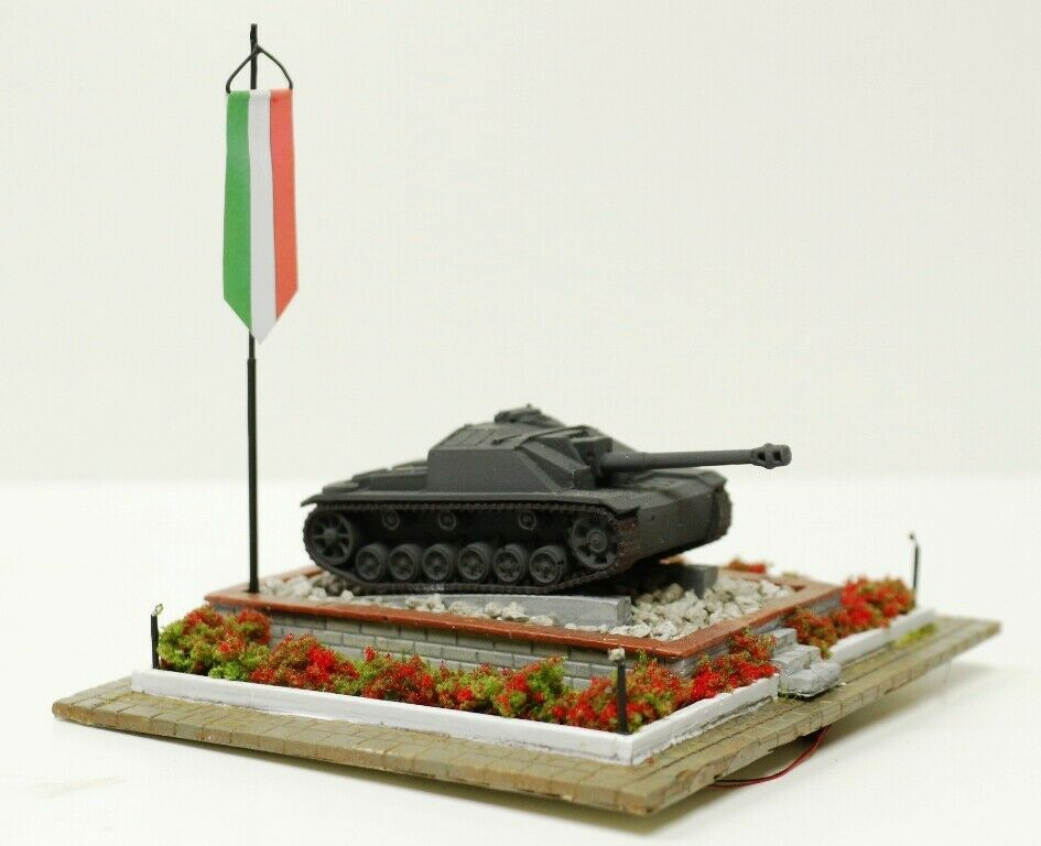 784DM HO Monumento to the fallen Italian with lights scale 1 87