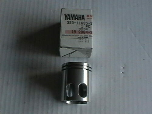 GENUINE YAMAHA RD50M DT50M 353-11635-31 0.25 mm OVERSIZE PISTON ONLY DISCONTINU