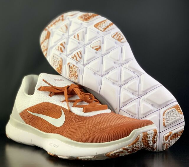 2f937df85f81 Nike Free x Texas Longhorns V7 Week Zero Trainer Shoes AA0881-800 Men s Sz  10.5