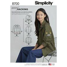 c46171ed05 item 4 Simplicity Sewing Pattern 8700 Misses Pattern Hack Utility Jacket -Simplicity  Sewing Pattern 8700 Misses Pattern Hack Utility Jacket