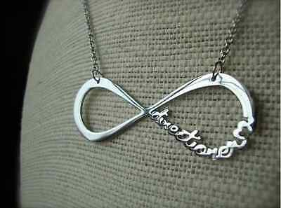 Top Hot Fashion 1D One Direction Infinity 8 Symbol forever love Pendant Necklace
