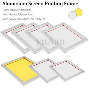 screen printing frames choose size mesh count art silk screen