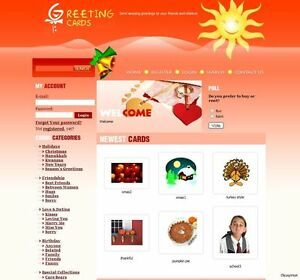 Fully-Functional-eCard-Business-website-for-Google-Adsense-Profit