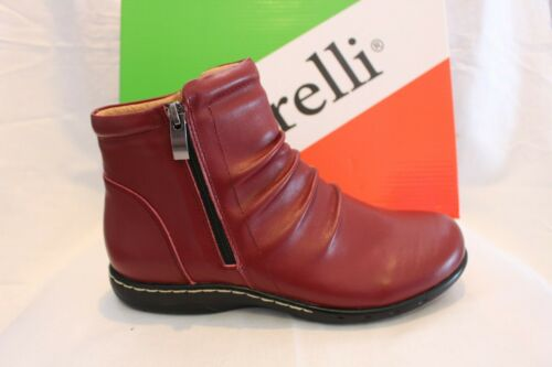LADIES SHOES/FOOTWEAR Borelli April ankle boot red