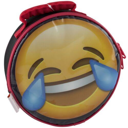Emoji Round Lunch Bag School Fashion Kit School Supplies NEW!