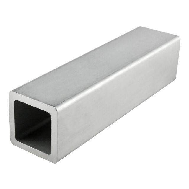 """80/20 Inc Mill Finish Aluminum 1"""" x 1"""" Square Tube Part 8111 x 12"""" Long N"""