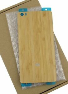 purchase cheap f6f8b 93fb8 Details about Original Bamboo Wood Back Battery Cover Case Replacement for  Xiaomi Mi4 Note 4
