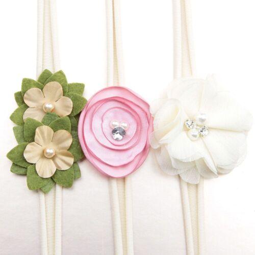 Cadeaux Bande Fleur Enfants Bébé Cheveux Accessoires Infant Toddler Bandeau