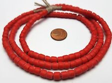 Spiaggia Old Bohemian Crow trade beads Red