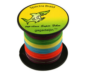 8-Strand-Braid-Multicolor-PE-100-1000M-6-300LB-Power-Super-Strong-Fishing-Line