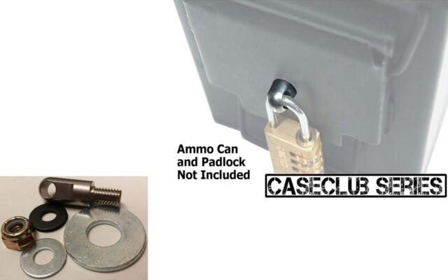 20 Mm Fat 50 Ammo Box Can Lock Hardware Kit 50 Cal 30 Cal 40 Mm