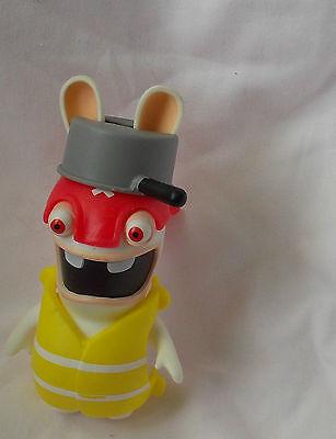 Les LAPINS CRETINS blister de 3 figurines pirate chevalier cartes rabbit figure