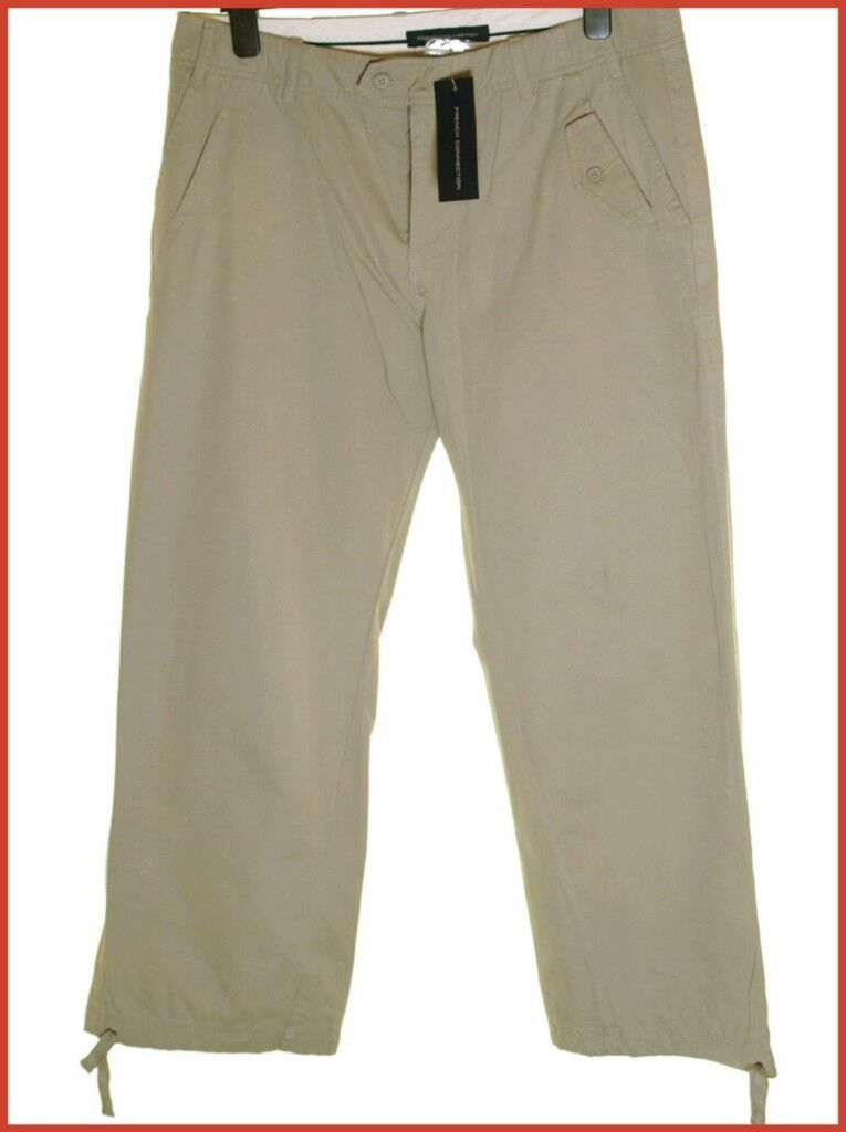 Bnwt Mens Authentic Fcuk Jeans Trousers W36