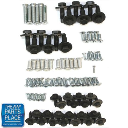 64-67 Chevrolet El Camino Tailgate And Bed Floor Bolt Kit 134 Pieces 270664