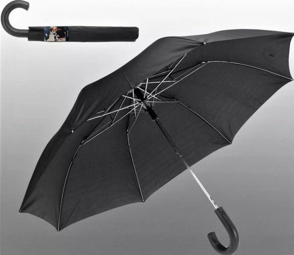 2x Herren Damen AUTOMATIK Minischirm Regenschirm Schirm Sonnenschirm