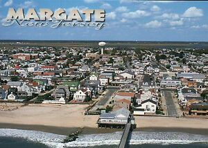 Image Is Loading Aerial View Of Margate New Jersey Atlantic Ocean