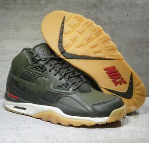 b9f1b0a7a3 Nike Air Trainer SC Wntr Winter Shoes AA1120-300 Cargo Khaki Olive ...