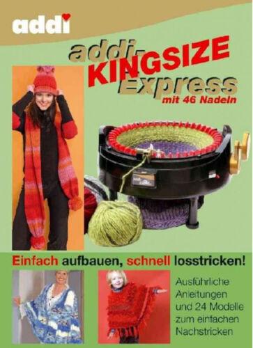 Handarbeitsbuch Livre addiexpress Kingsize en Allemand ou Anglais 891-0//892-0