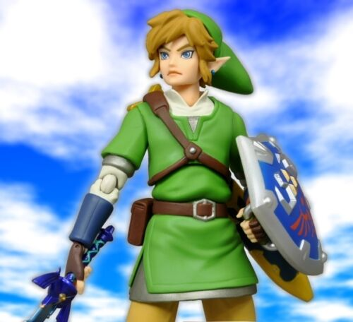 Legend of Zelda skyward sword FIGMA LINK action figure