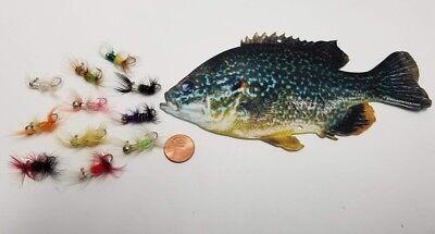 1//16 oz Ice N Ant Crappie Bluegill Perch Sunfish jig Fishing Lure Panfish Gapens