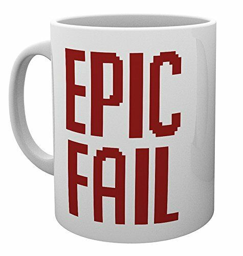 Epic Fail  Cup Tea Coffee Mug Mugs