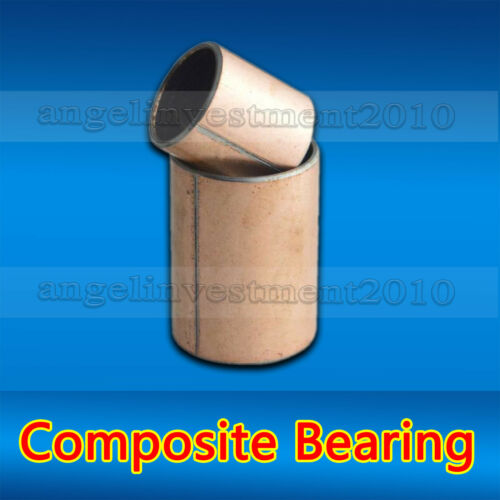 34mm 25mm 10pcs SF-1self lubricating composite bearing bushing sleeve 30mm