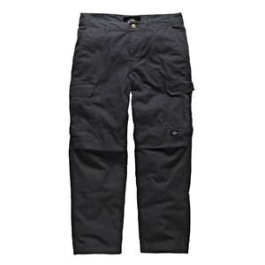 181f8860a5f980 Dickies - New York Ripstop Cargo Trousers Black Men Black Leisure ...