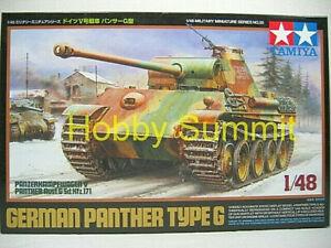 Tamiya-1-48-WWII-German-PANTHER-Type-G-Tank-Display-Model-Kit-32520