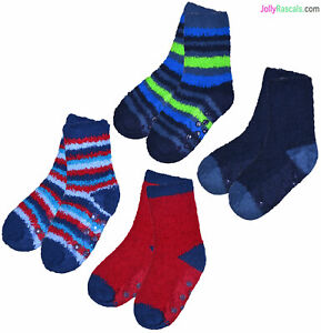 4 Pairs Children Boys Girls Spider Web Design Warm Thermal Warm Soft Socks