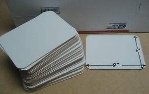 Classroom Set Of 40 Dry Erase Individual 6x8 Student Whiteboard
