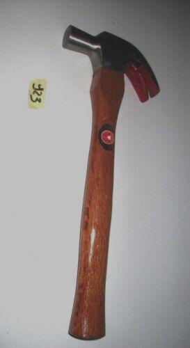 hammer Martello falegname carpentiere curvo manico in legno levachiodi 400 gr
