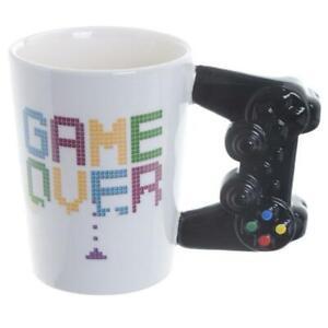 Novita-Game-Over-Gioco-Tazza-di-Ceramica-Ufficio-Controller-Te-Caffe