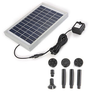Solar-Powered-Fountain-Submersible-Garden-Pond-Pool-Feature-Water-Pump-12V-5W