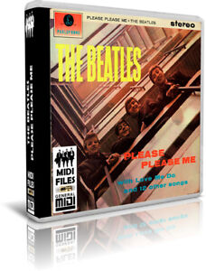 BEATLES-Please-Please-Me-Midi-Files-Pendrive-USB-OTG-Escucha-Listen-Demos