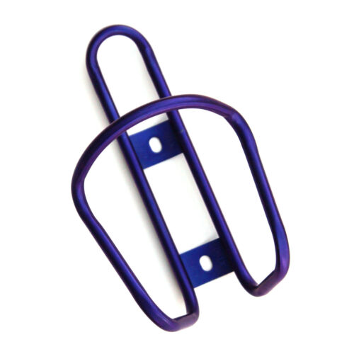 King Cage Titanium Water Bottle Cage Anodized Purple Made in Durango USA