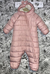 Girls Age 1-2 Years - Winter Snow Suit