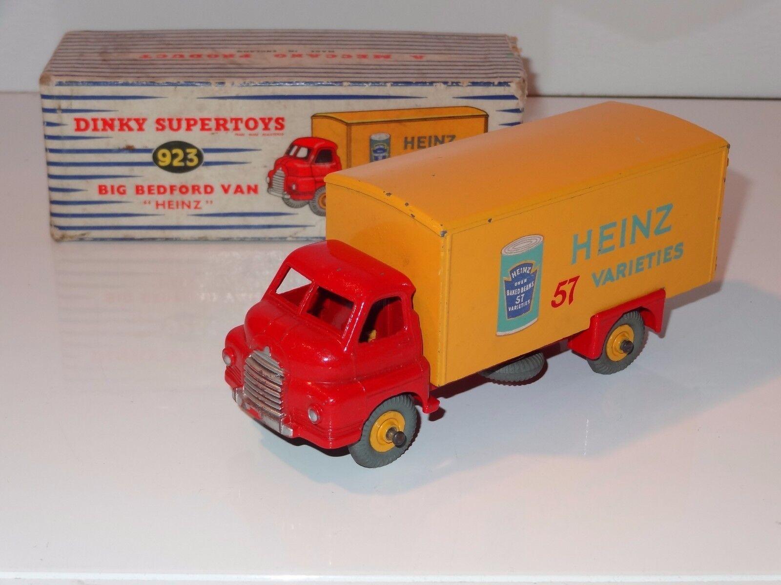 barato (W) Dinky Big Bedford Heinz van - 923 923 923  primera reputación de los clientes primero