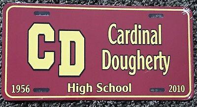 Cardinal Dougherty High School License Plate