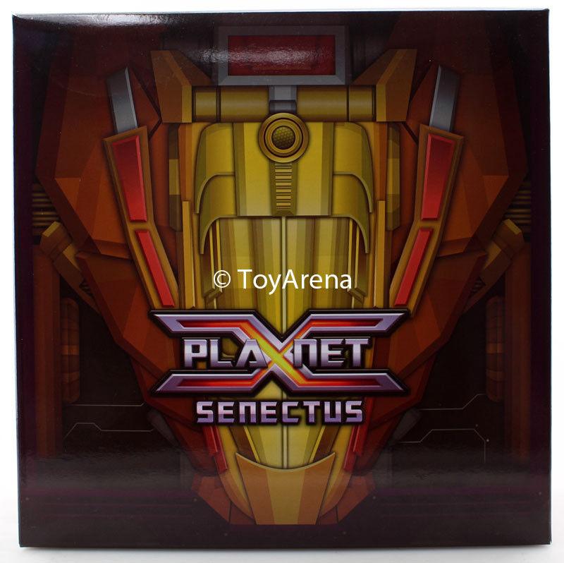 Transformers Planeta X PX-09S Senectus Acción Figura vendedor EE. UU. en Stock