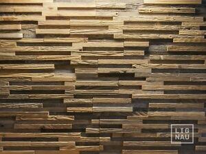Image Is Loading Antique Wall Cladding Reclaimed Wood Paneling Recycled Vintage