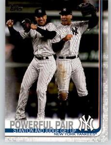 15-2019-Topps-Series-2-15-Card-Base-Lot-STANTON-AARON-JUDGE-Yankees-444