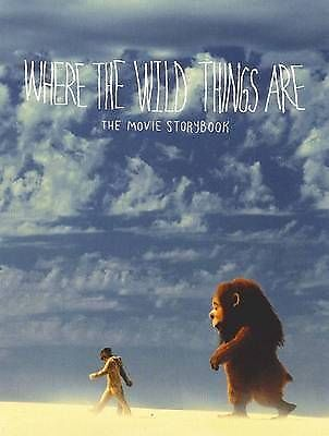 WHERE THE WILD THINGS ARE - THE MOVIE STORYBOOK Softcover Pb book