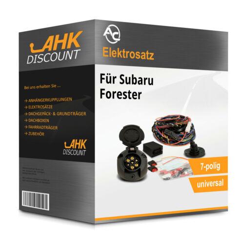 Für Subaru Forester 01.08-02.13 AC Elektrosatz 7polig universell Neuware für AHK