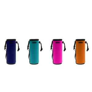 Image Is Loading Water Bottle Cooler Sleeve Neoprene Insulated Bag Strap