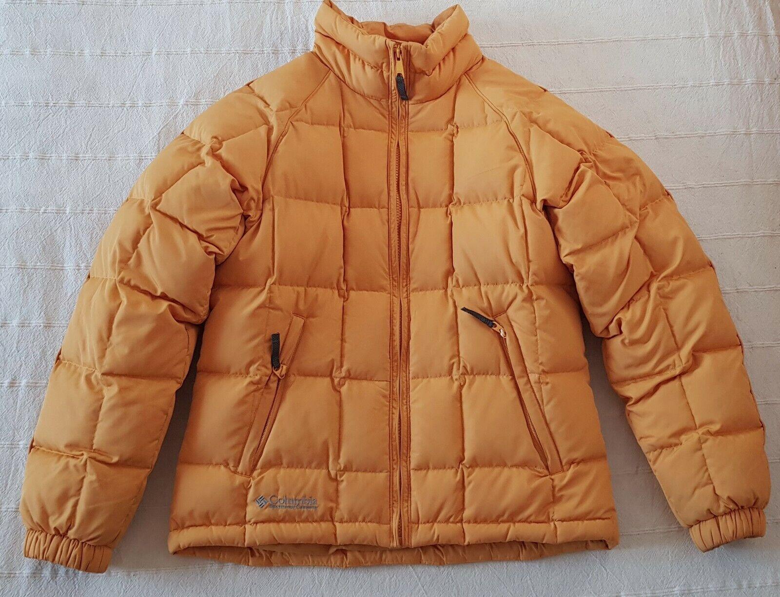 Chaqueta de nieve Columbia amarilla para damen,  Duvet y plumas, Größe S