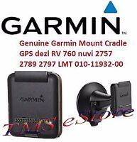 Garmin Cradle Only Power Mount For Rv 760lmt Nuvi 2757lm 2797lmt Dezl 760lmt Gps