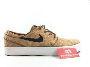 35fc168a1 New Nike SB Janoski Elite Ale Brown   White Cork Skate Shoes z1