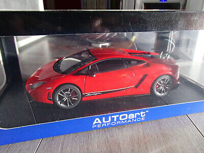 1/18 - Lamborghini Gallardo Superleggera Lp 570-4 - Rouge - Autoart Buona Reputazione Nel Mondo
